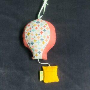 boite à musique montgolfière