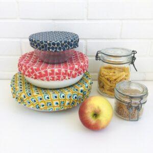 Couvercles alimentaires lavables grand moyen et petit format divers coloris