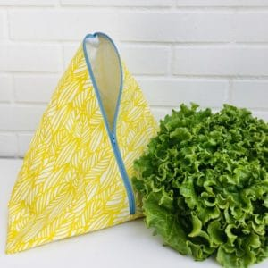 Sac de conservation pour salade jaune