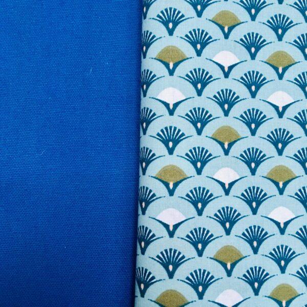 Surchaussures lavables lot de 3, bleu et plumeeaux
